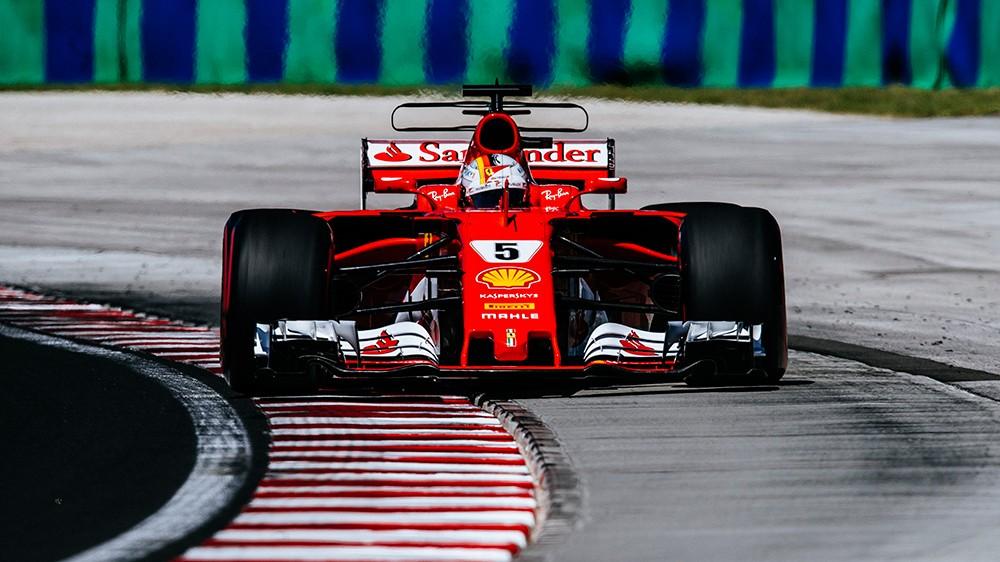 Hungargy Ferrari race