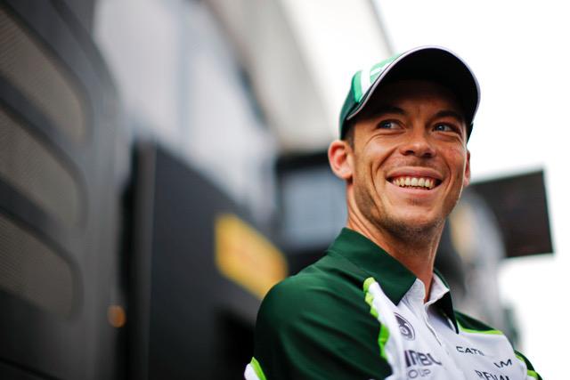 Andre Lotterer (GER) Caterham F1 Team. Belgian Grand Prix, Friday 22nd August 2014. Spa-Francorchamps, Belgium.