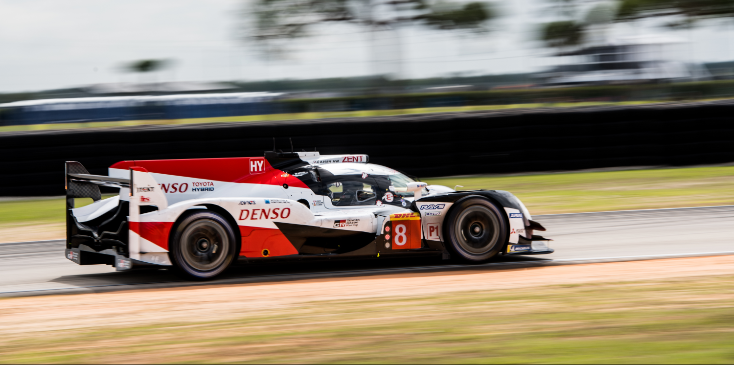 Toyota #8 at WEC Sebring Test Day