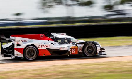 Toyota #8 at WEC Sebring Test Day